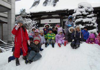 念願の雪がたくさん!