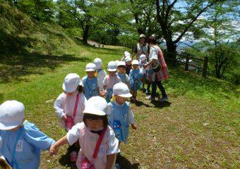 舞鶴山にお散歩♪