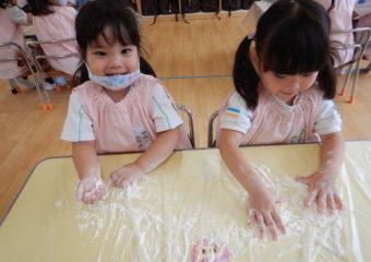 ひよこ組 小麦粉粘土