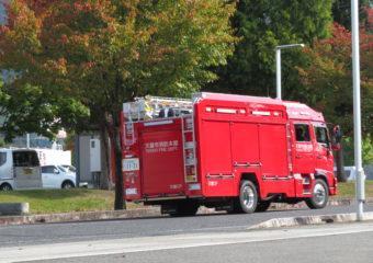 楽しかったね…消防署見学